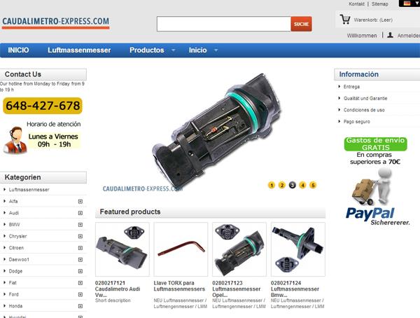 Tu tienda de Caudalimetros - autoparts-forless.com